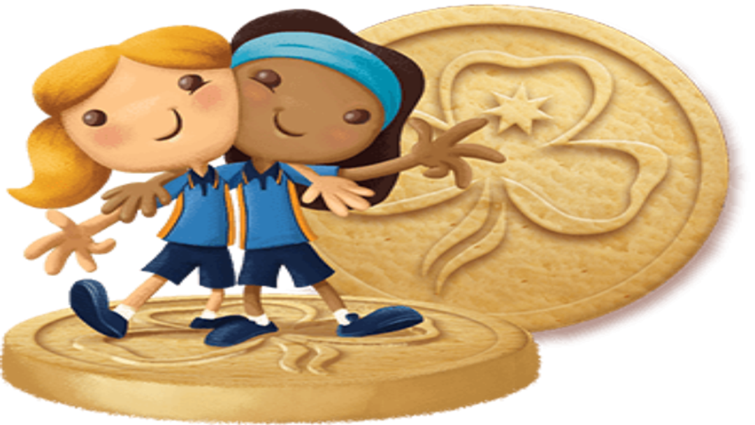 Girl Guides biscuits anniversary