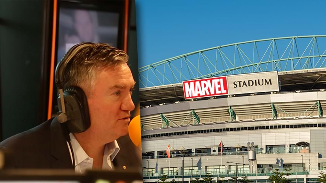 Eddie McGuire On What To Expect With Marvel Stadium