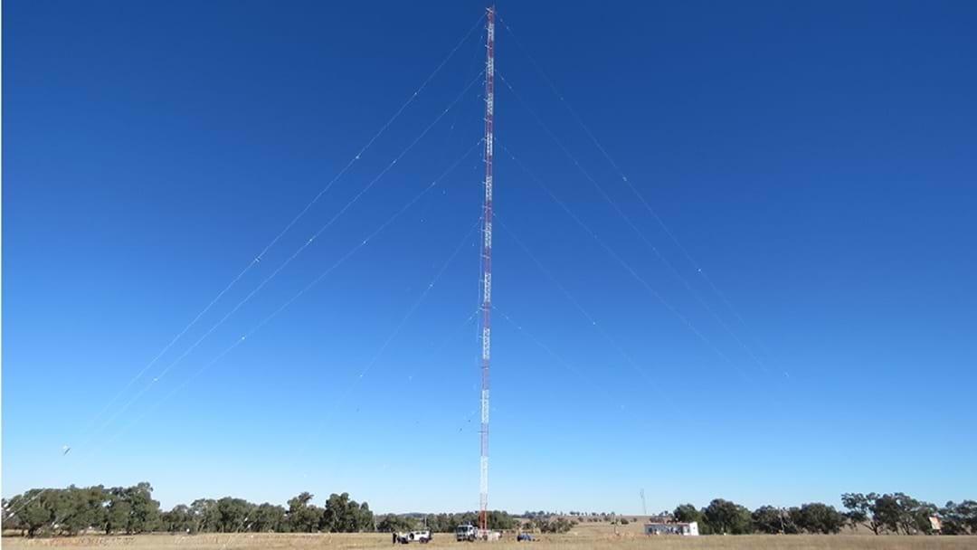 Triple M's New Mast