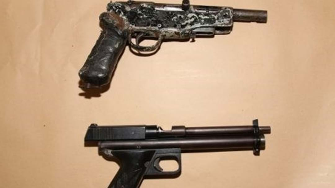 Police Locate Twelve Firearms at Kearneys Spring Property
