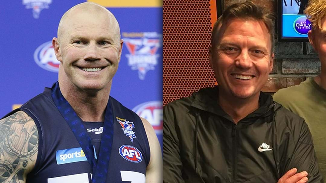 LISTEN | Barry Hall's Classic Response To A Line From JB