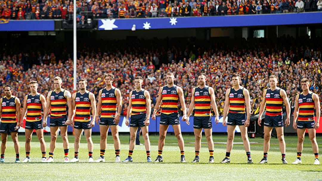 Champion Data Says That Adelaide Are The Team Most Likely To Finish First
