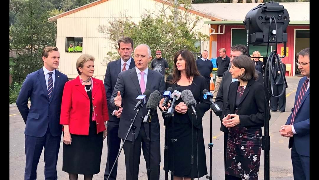 PM, Premier Announce NDIS Funding Deal At Point Clare