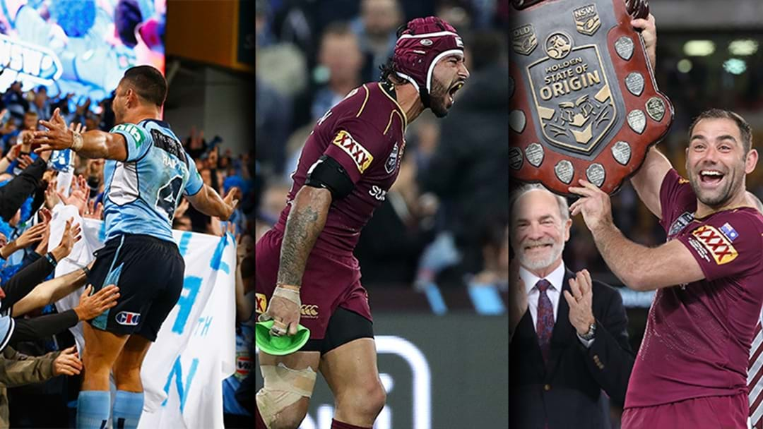 Origin Rewind | Re-Live All The Biggest Moments From Last Year's Origin Series