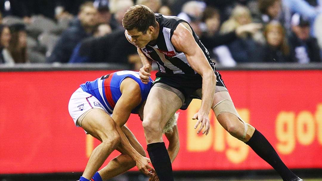 LISTEN | Mason Cox Explains His High Bump On Jason Johannisen
