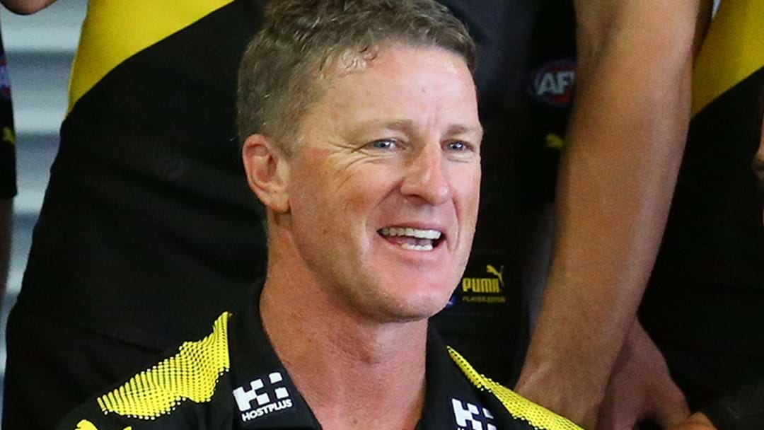 Damien Hardwick's Cracking Line About Mrs Hardwick