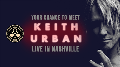 Win a meet and greet with Keith Urban!