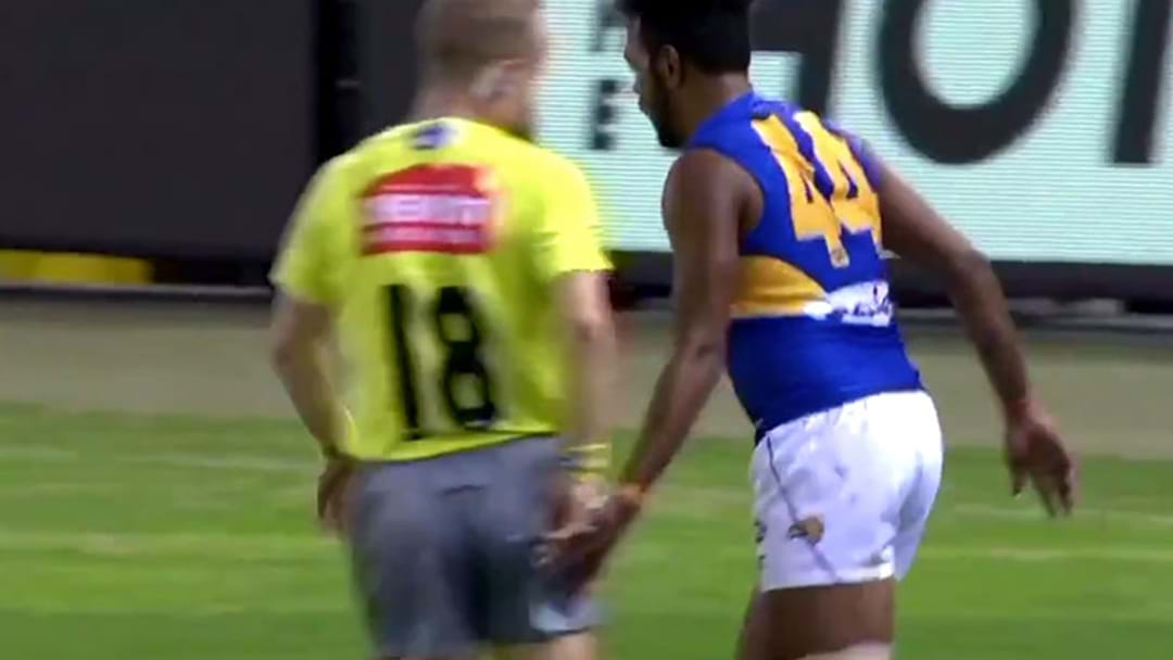 Willie Rioli Could Be In Strife For Patting Razor Ray On The Bum