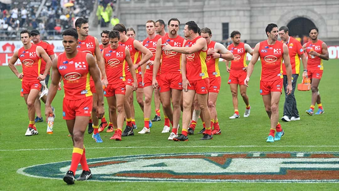 The Gold Coast Suns Have Announced They Will Not Be Returning to China in 2019