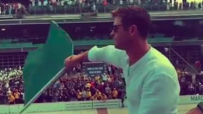 Article heading image for Chris Hemsworth Does It Again, This Time With The Flag