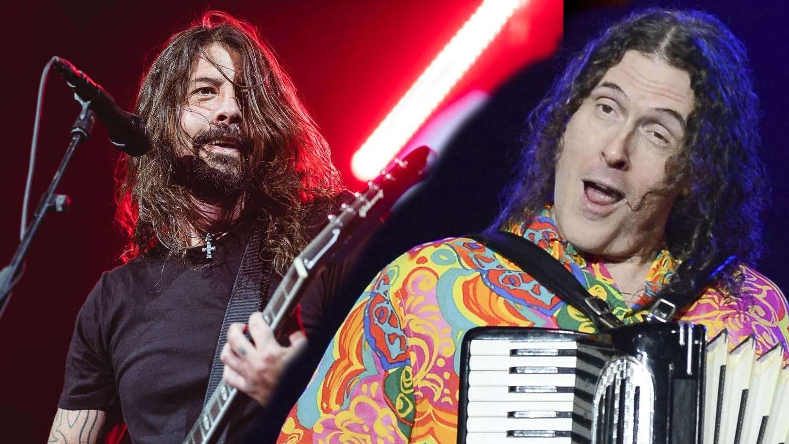 Article heading image for WATCH: Weird Al Yankovic Cover Foo Fighters Hit