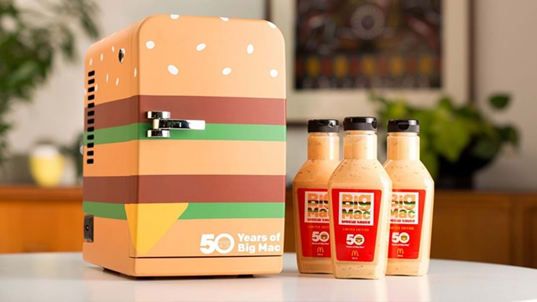 Macca's Is Auctioning Off Big Mac Special Sauce And A Mini Fridge