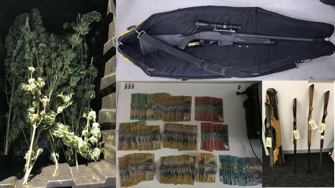 Coffs Harbour RES Unit Seize Drugs, Guns and Cash