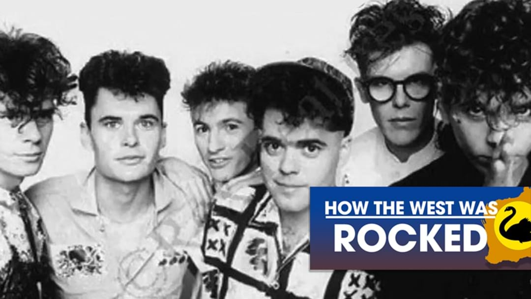 How The West Was Rocked: INXS