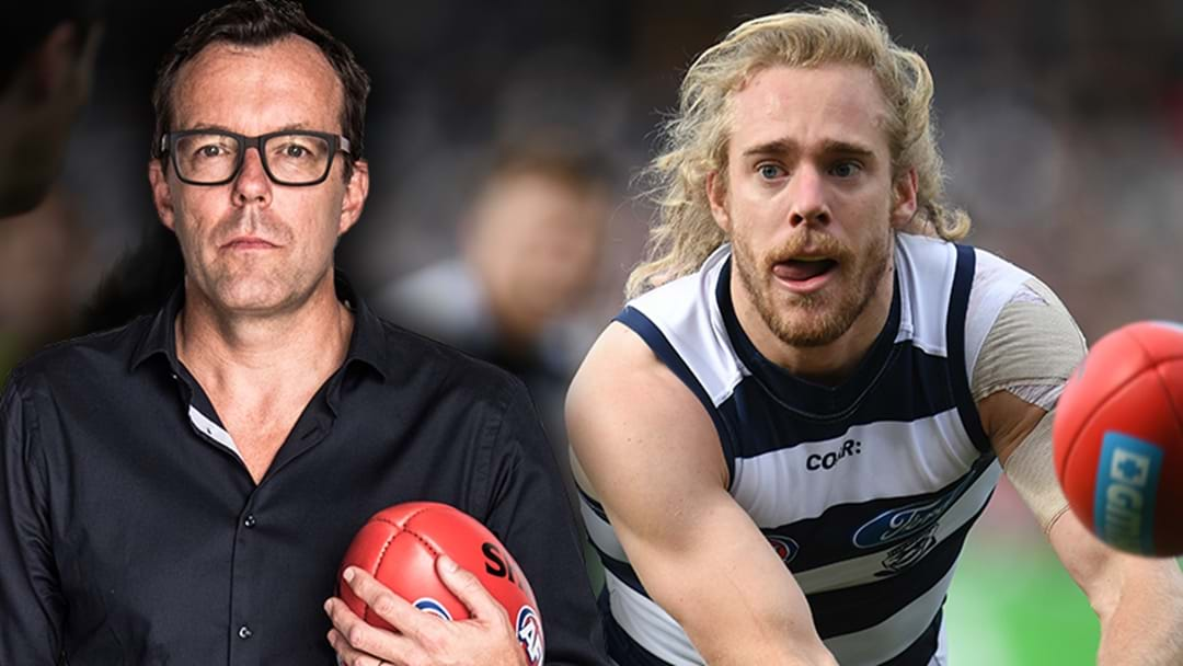 LISTEN | Damian Barrett Explains Geelong's Contract Stalemate With Two Catsq
