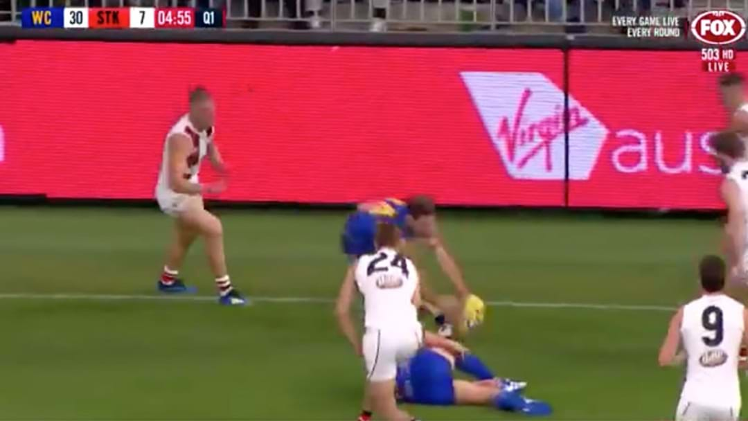 Jack Darling Goes Down With An Ankle Injury