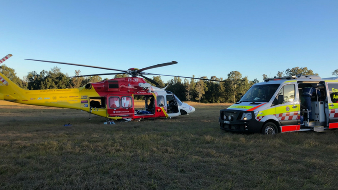 Woman Airlifted After Head On Crash near Grafton
