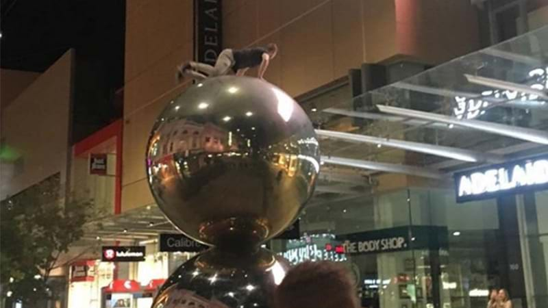 Article heading image for Some Loose Unit Scaled The Mall's Balls And The Council 'Aint Stoked About It