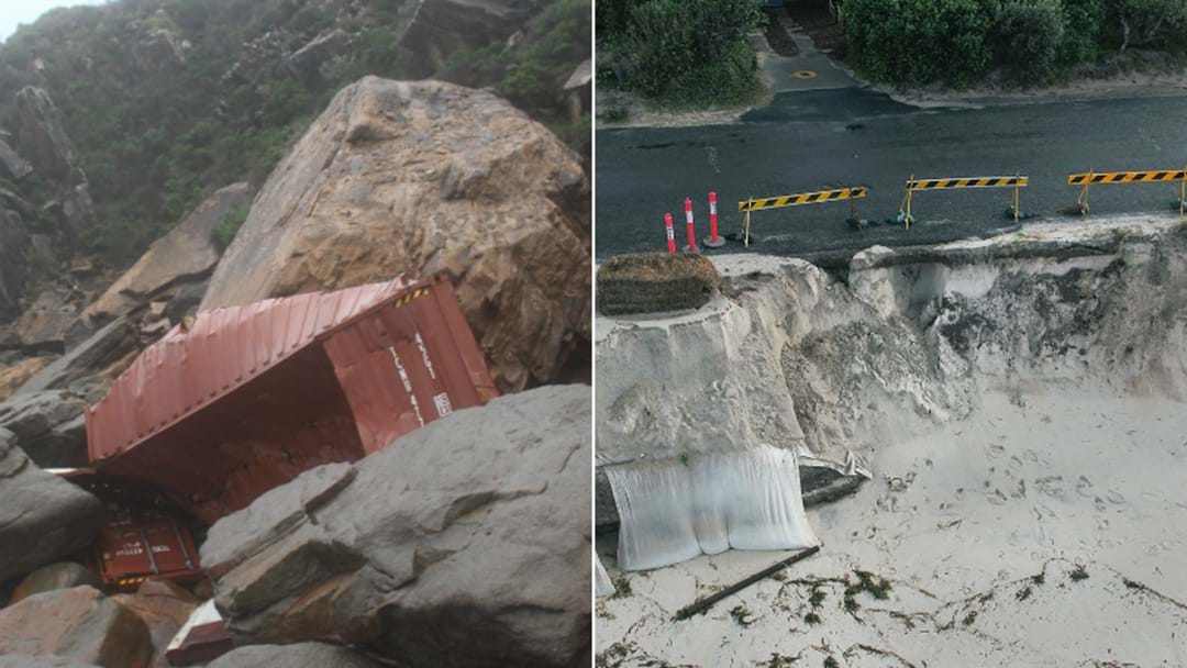 PHOTOS: Hunter's Coastline Hit With Erosion, Rubbish