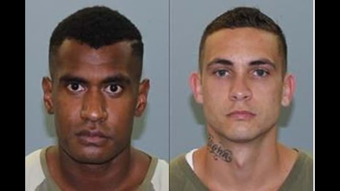 Two prisoners remain at large in Rockhampton