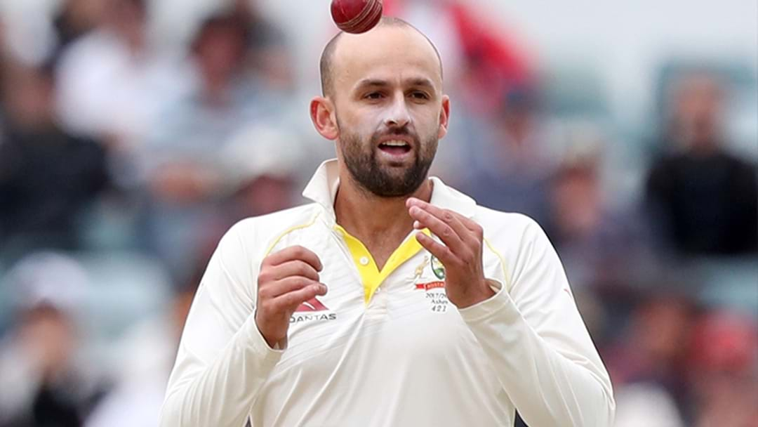 LISTEN | Nathan Lyon's Ripping Sledge On An English Fan