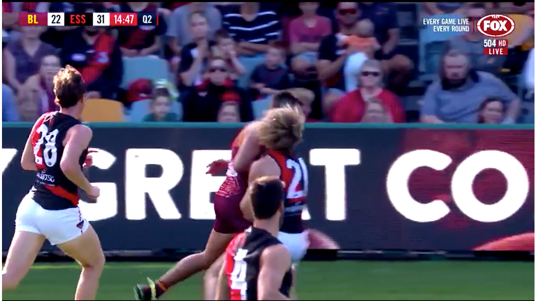 Luke Hodge Has Hit Dyson Heppell Into Next Week