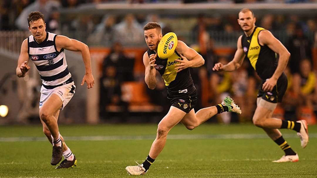 Richmond v Geelong Isn't On Free To Air TV Next Week — But It Is On Triple M