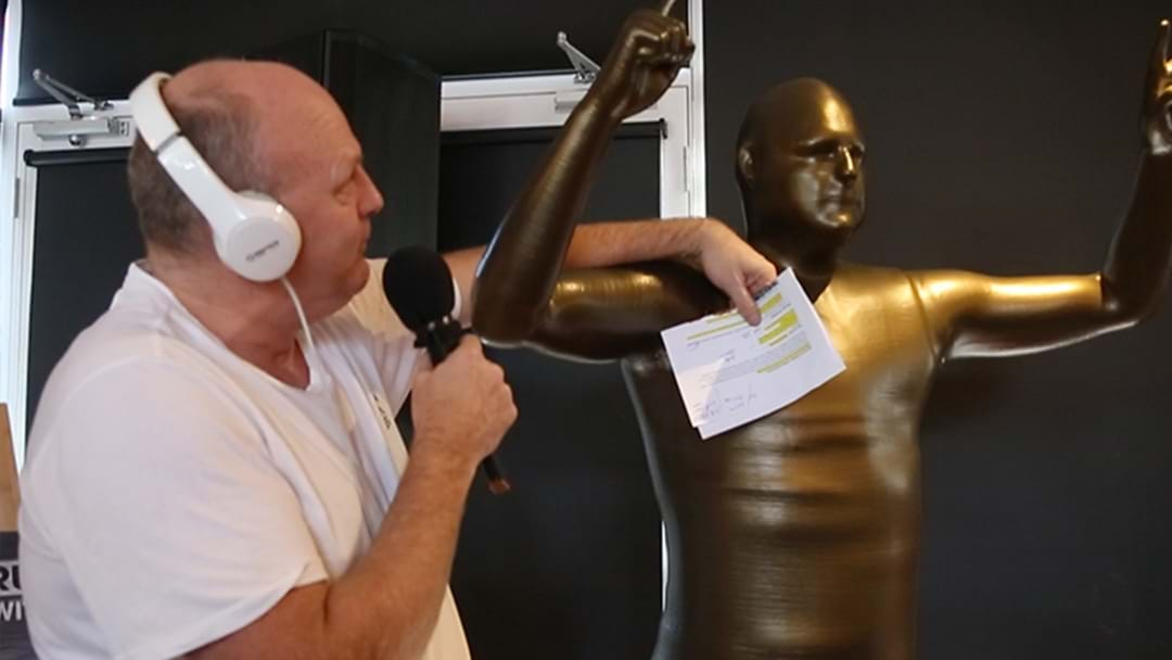 LISTEN | Billy Had His Name Stuffed Up In A Report About His Statue