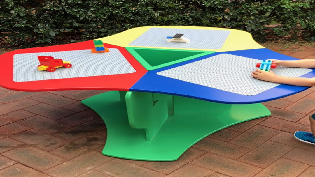 Lego Table For Charity