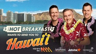 The Hot Breakfast Wants To Send You To Hawaii!