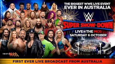 WWE Super Show-Down Announced For MCG!!!