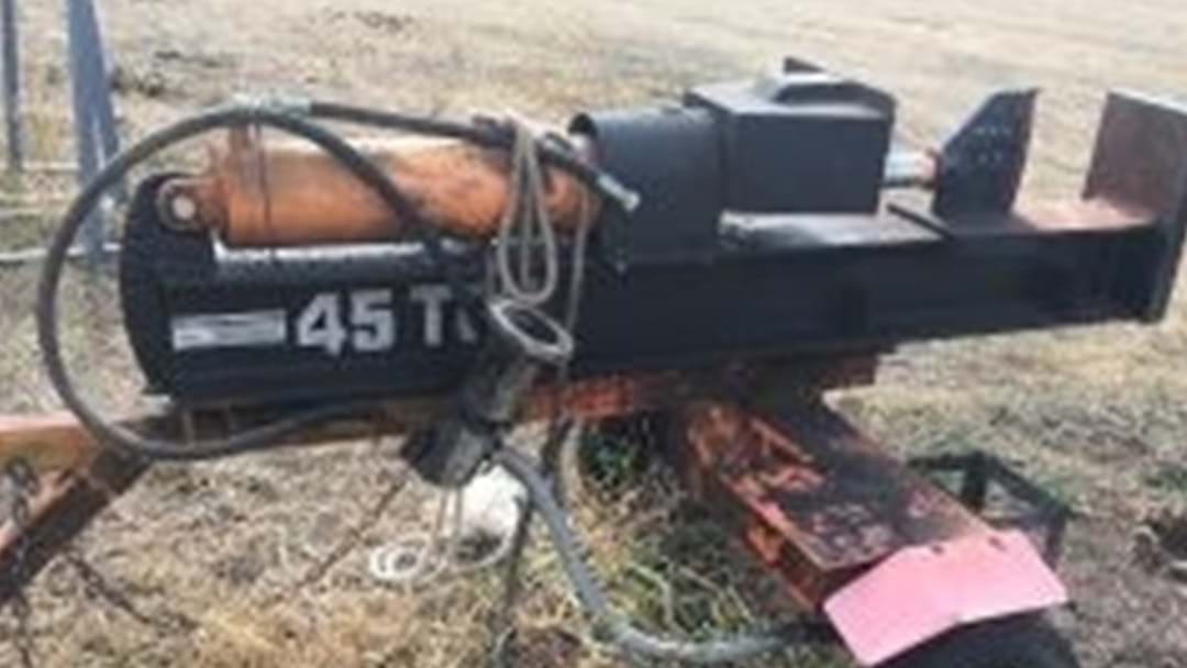 Police Asking for Public's Help to Find Owner of Stolen Log-splitter