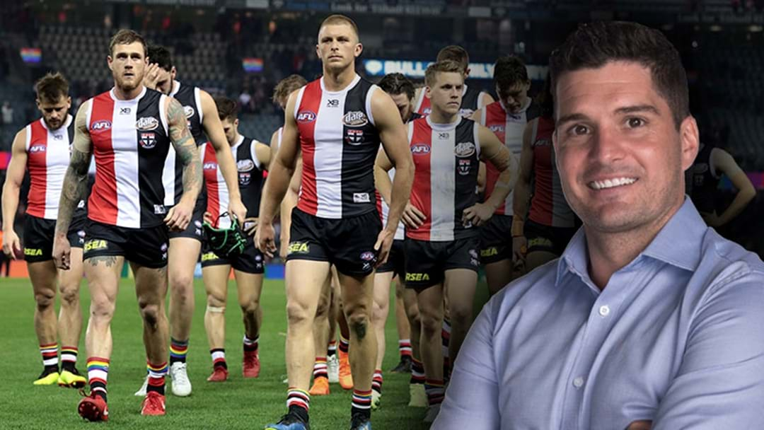 "Joey Montagna Says That St Kilda Needs A ""Fresh Pair Of Eyes"""