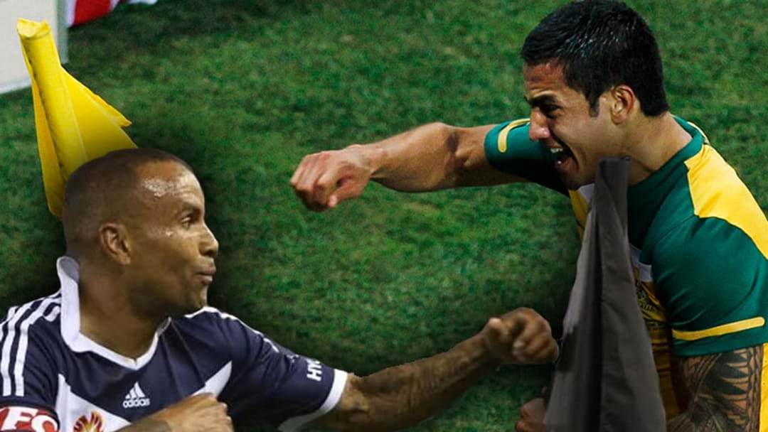 Archie Thompson Says He Came Up With Tim Cahill's Famous Corner Flag Punching Celebration