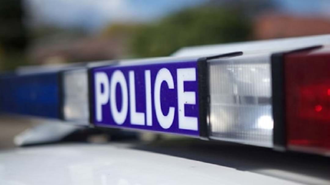Cop Car Rammed At Bateau Bay