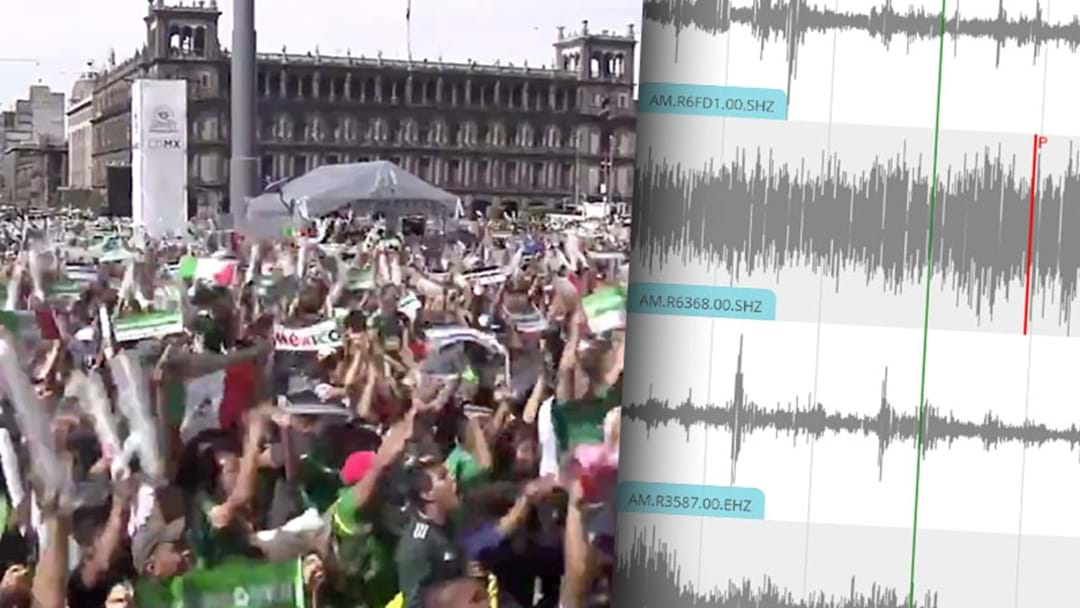 Mexican Fans Celebrated Their Goal Against Germany So Hard It Caused An Earthquake