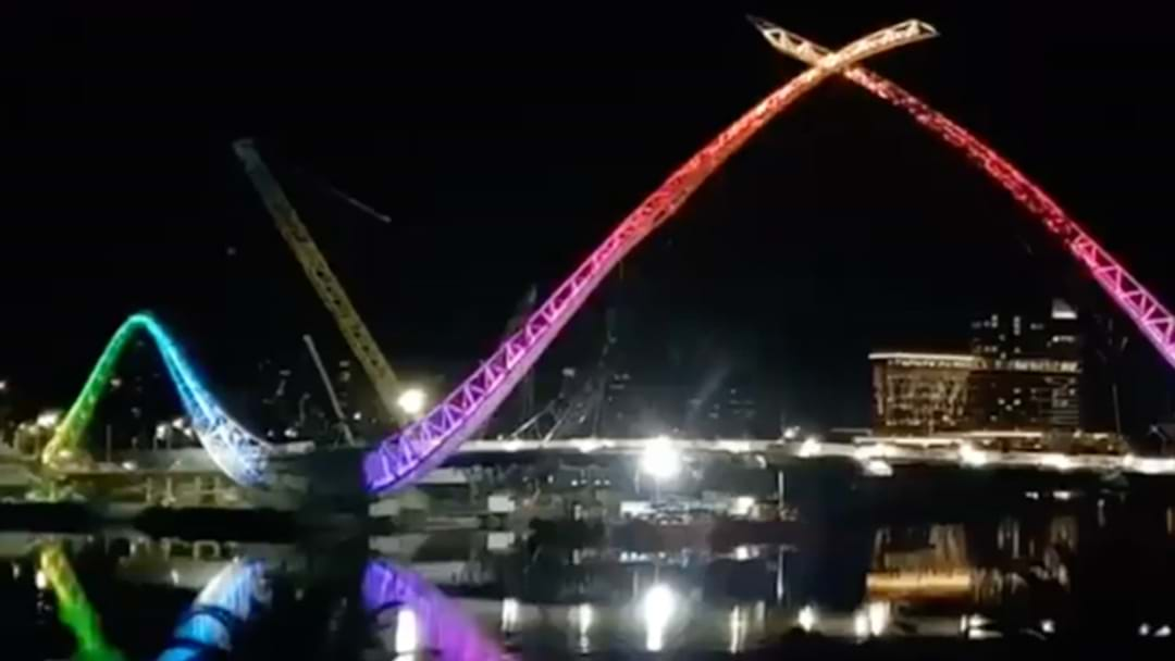 Is The Matagarup Bridge Super Close To Completion?