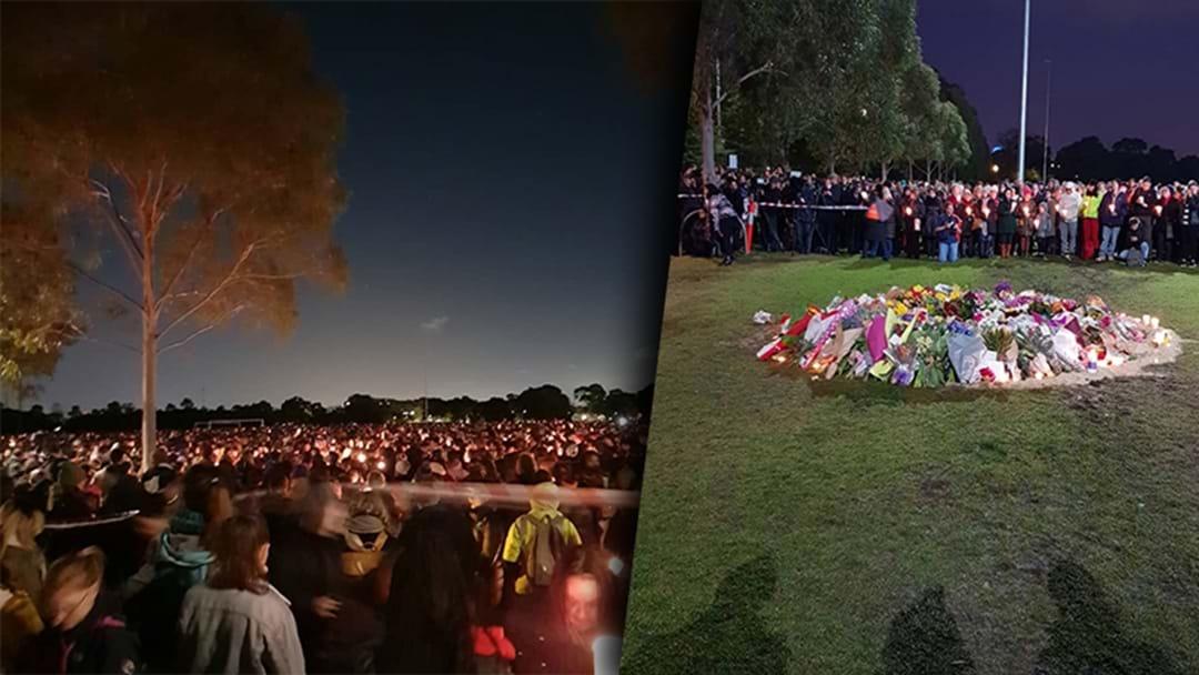 Rosie's Emotional Reflection On The Eurydice Dixon Memorial