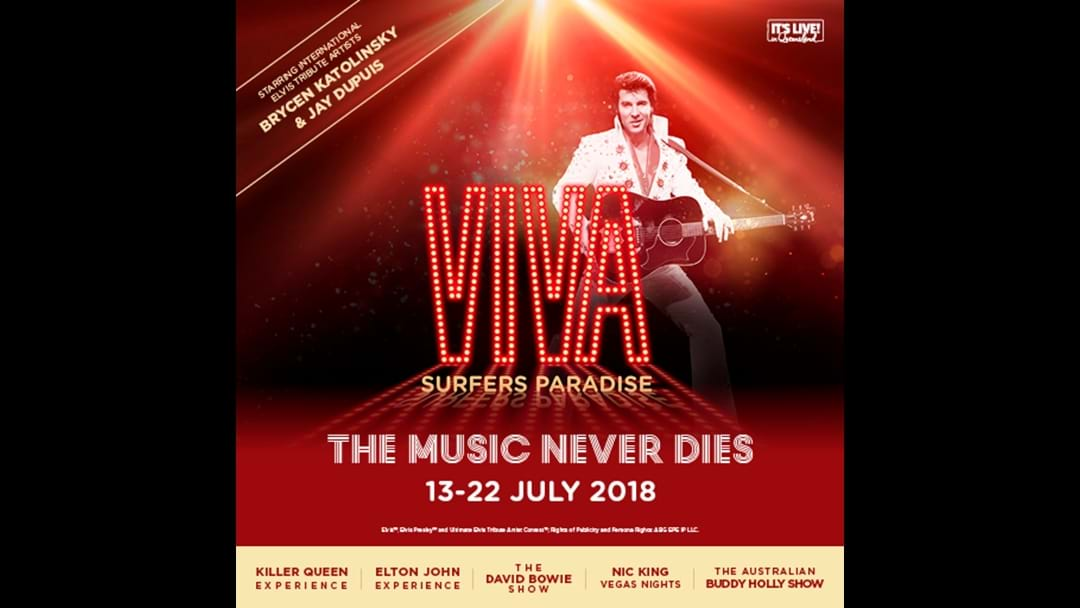 VIVA Surfers paradise from July 13 - 22!