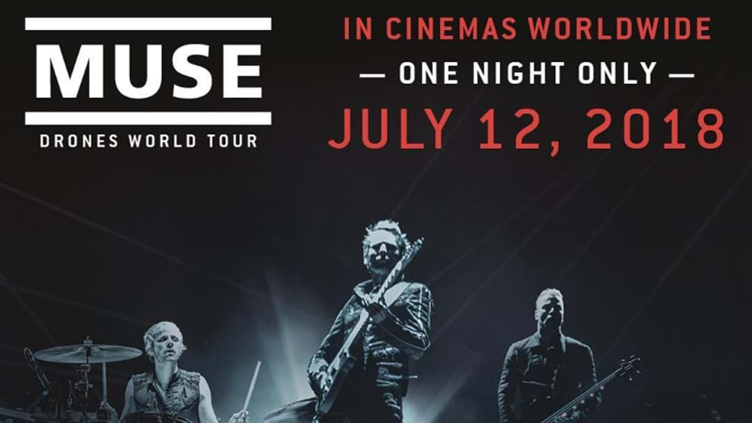 MUSE - Drones World Tour Concert Movie is coming!!