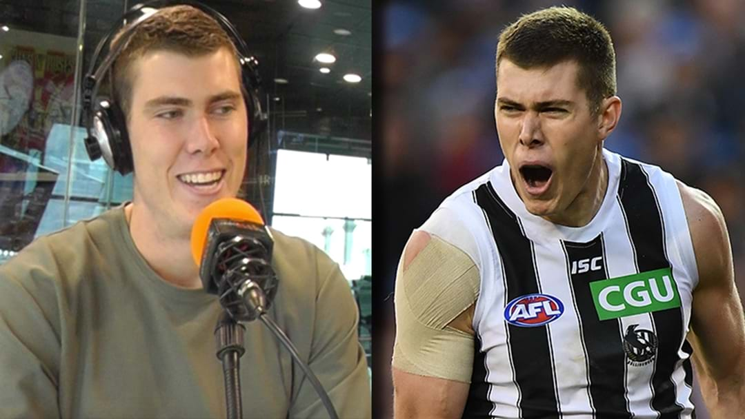 LISTEN | Mason Cox Reveals The Trash Talk He Was Copping On Queen's Birthday