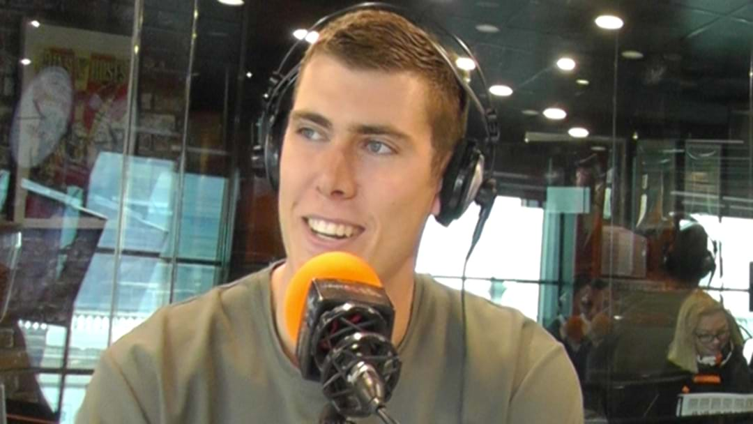 LISTEN | Mason Cox Recalls How He First Discovered AFL