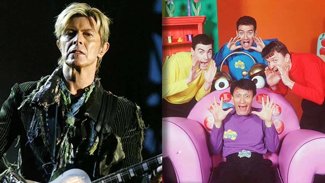 LISTEN | Did The Wiggles Pinch A Song Off David Bowie?