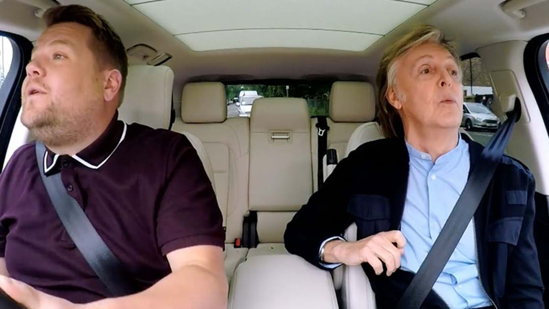 Check Out Sir Paul McCartney's Brilliant Carpool Karaoke Here