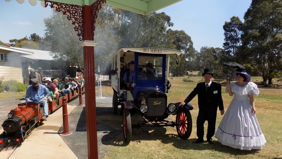 Miniature Steam Train and Model T Bus Rides