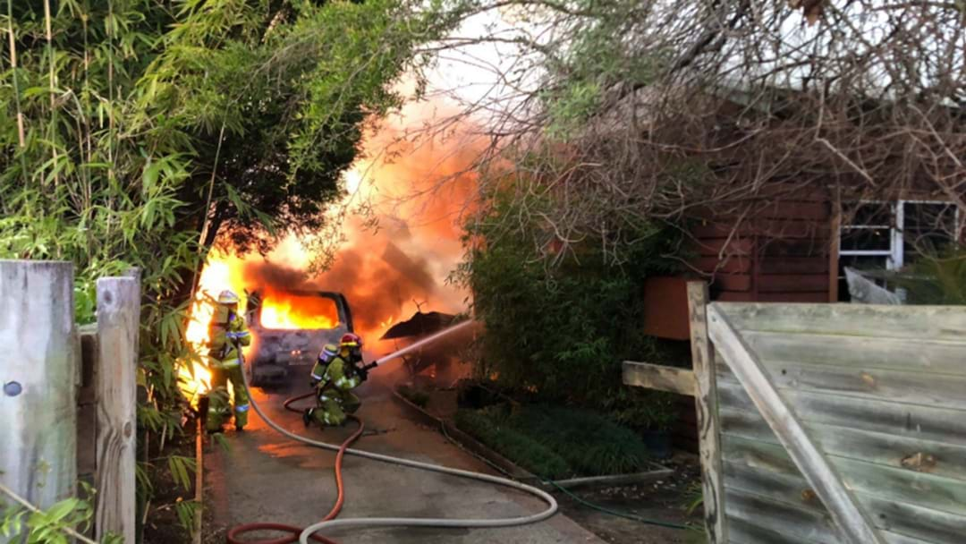 PHOTOS: Three Injured In Lake Macquarie House Fire