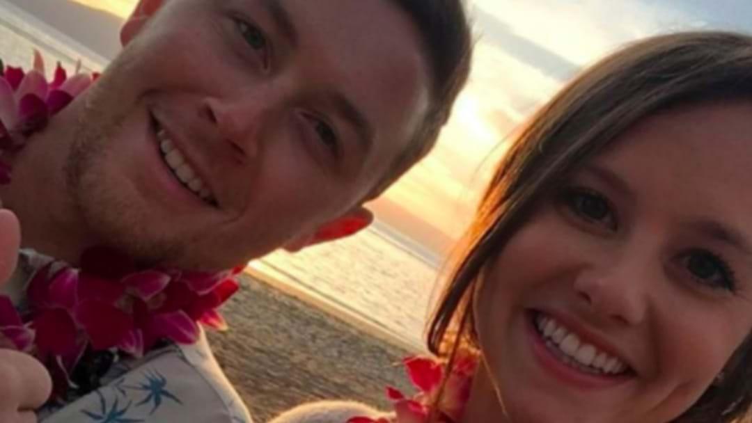 Scotty McCreery Releases Pic of His Honeymoon