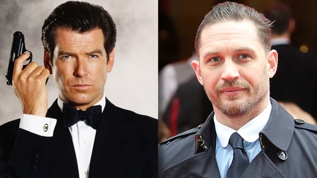 Pierce Brosnan Backs Tom Hardy To Be The Next James Bond