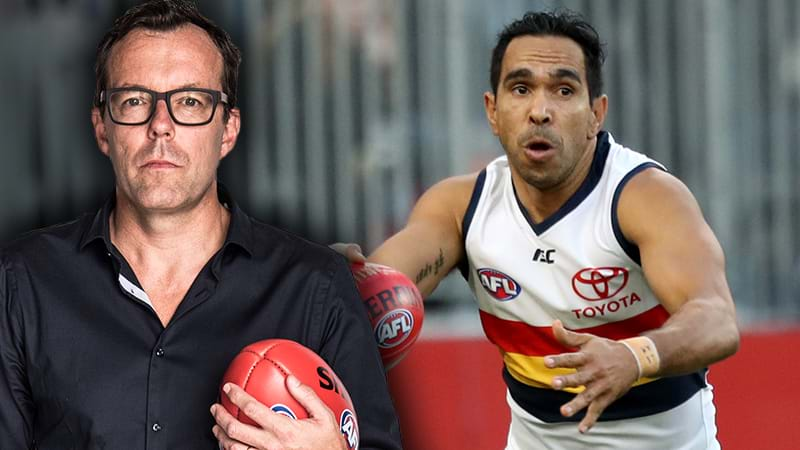 "Article heading image for LISTEN | Damian Barrett On The ""Disillusion"" Surrounding Eddie Betts' Future"