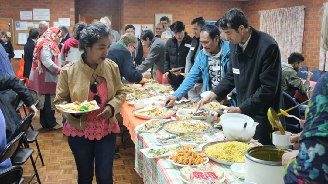 Refugees Welcomed With Open Arms In Griffith